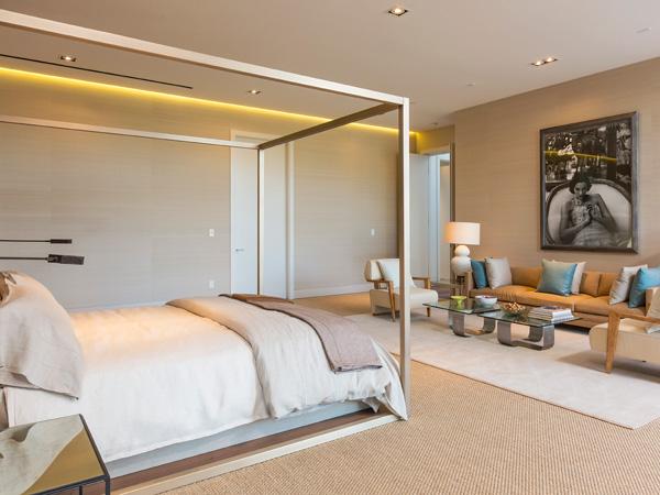 Chambre à coucher  La villa de Beyoncé et Jay Z
