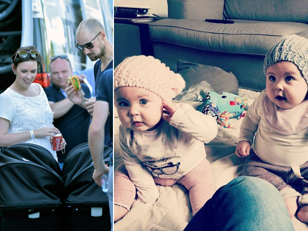 Photo of Tom Boonen & his  Daughter  Valentine