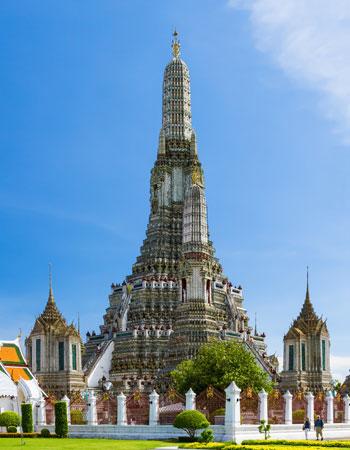 Beelden en pagodes