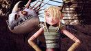 Les héros : Astrid et Tempête