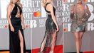 De rode loper van de Brit Awards