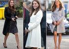 Kate Middleton, enceinte, élégante