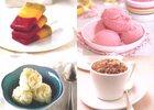 Lichte ijsjes en sorbets