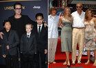 La saga des pères célèbres entourés d'enfants
