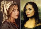 Portraits de stars inspirés de l'art ancien