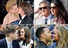 Fous d'amour : les baisers des people