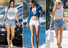Look sexy : ces stars osent le mini short