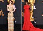 Op de rode loper van de Oscars
