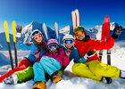 Sports d'hiver en famille en Savoie au Lake Annecy Ski Resorts