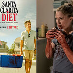 "Drew Barrymore, zombie in de horror-comedy ""Santa Clarita Diet"""
