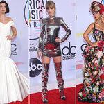 De rode loper van de American Music Awards