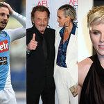 Dries Mertens et Scarlett Johansson célibataires et Johnny Hallyday se bat contre un cancer