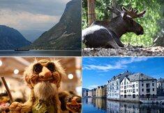 Magie des fjords de Norvège en été