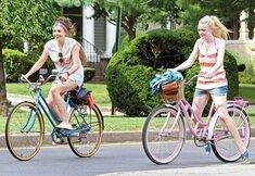 A vélo, comme les stars
