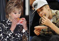 Même les stars mangent des crasses