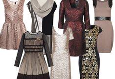 Shopping : une robe de fête pour chaque silhouette