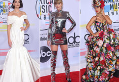 De rode loper van de American Music Awards