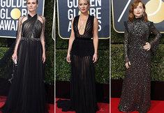Tapis rouge des Golden Globes 2018 : le noir était de mise