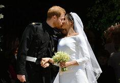 Schoon volk op het huwelijk van prins Harry en Meghan Markle
