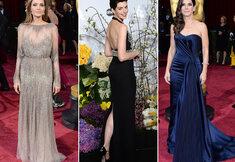 Tenues glamour sur le tapis rouge des Oscars