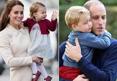 Het schattige gezinnetje van prins William