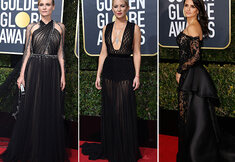 Code zwart op de Golden Globes