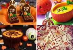 Terribles recettes et sucreries pour Halloween