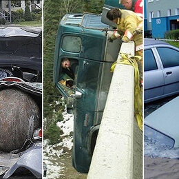 Les accidents les plus incroyables