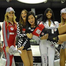 Les hôtesses du Salon de l'Auto