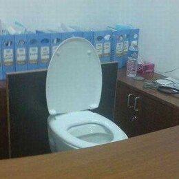 Toiletten met een serieuze hoek af!