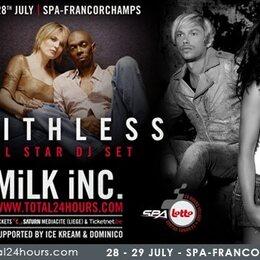 Faithless All Star DJ Set et Milk Inc en concert