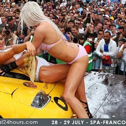 Temptation Car Wash Girls