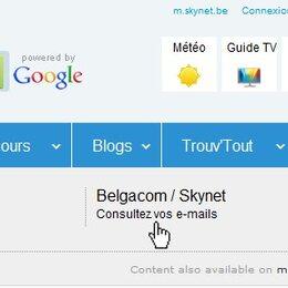 Votre webmail Skynet vous accompagne en vacances