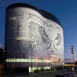 Banknote Building, Kaunas - Litouwen