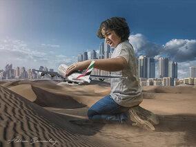 Ce papa photographe a fait de son fils un héros sur Instagram