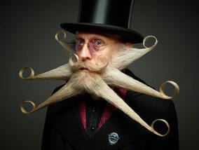 Les plus fantastiques barbes et moustaches de 2017