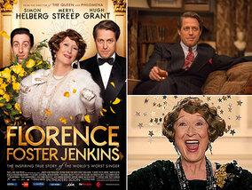 Florence Foster Jenkins: prachtig, met alle juiste valse noten