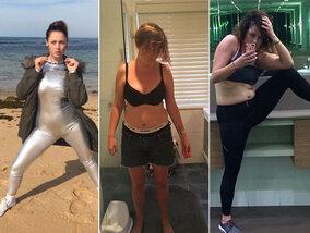 Elle parodie les poses de stars sur Instagram