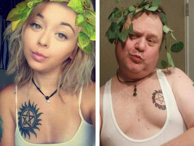 Wanneer een vader zich in de Instagramschoenen van zijn dochter plaatst