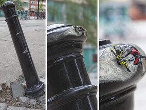 Streetart of vandalisme? De lijn is vaak filterdun