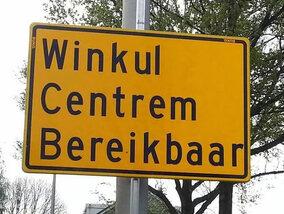 Grappige taalfouten in verkeersborden