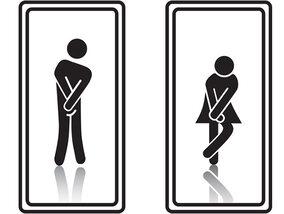 Les pictogrammes les plus drôles trouvés sur la porte des toilettes !