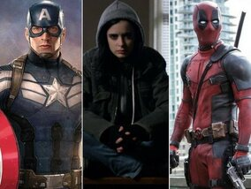 Les plus célèbres héros de l'univers Marvel