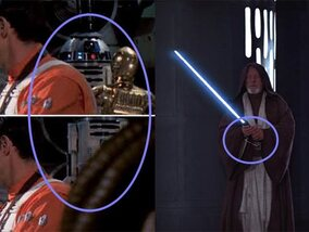 Grappige details in Star Wars-films