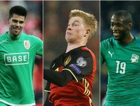11 footballeurs ayant transité par la Belgique