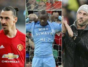 De 11 grootste grapjassen onder de voetballers