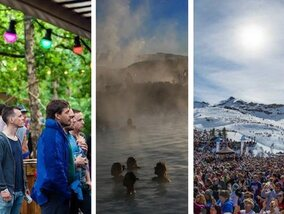 Festivals op een onverwachte locatie