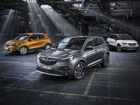 De sterren van de stand van Opel in Paleis 5 zijn de SUV's