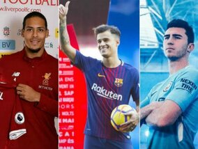 De duurste transfers van de wintermercato 2018
