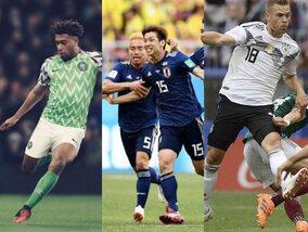 De mooiste voetbalshirts van het WK